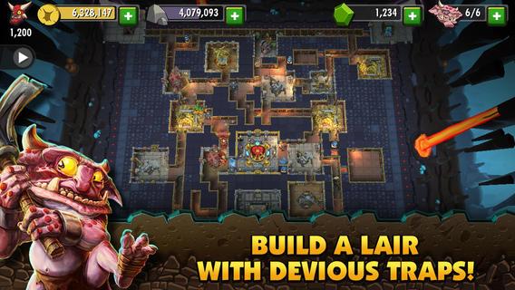 Dungeon Keeper 1.0 for iOS (iPad screenshot 002)