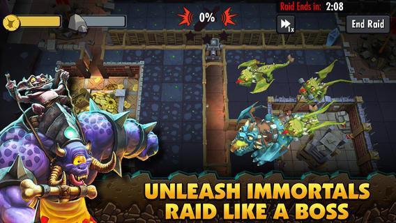 Dungeon Keeper 1.0 for iOS (iPad screenshot 003)