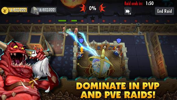 Dungeon Keeper 1.0 for iOS (iPad screenshot 004)