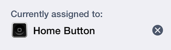 Fingerprint Home button Activator