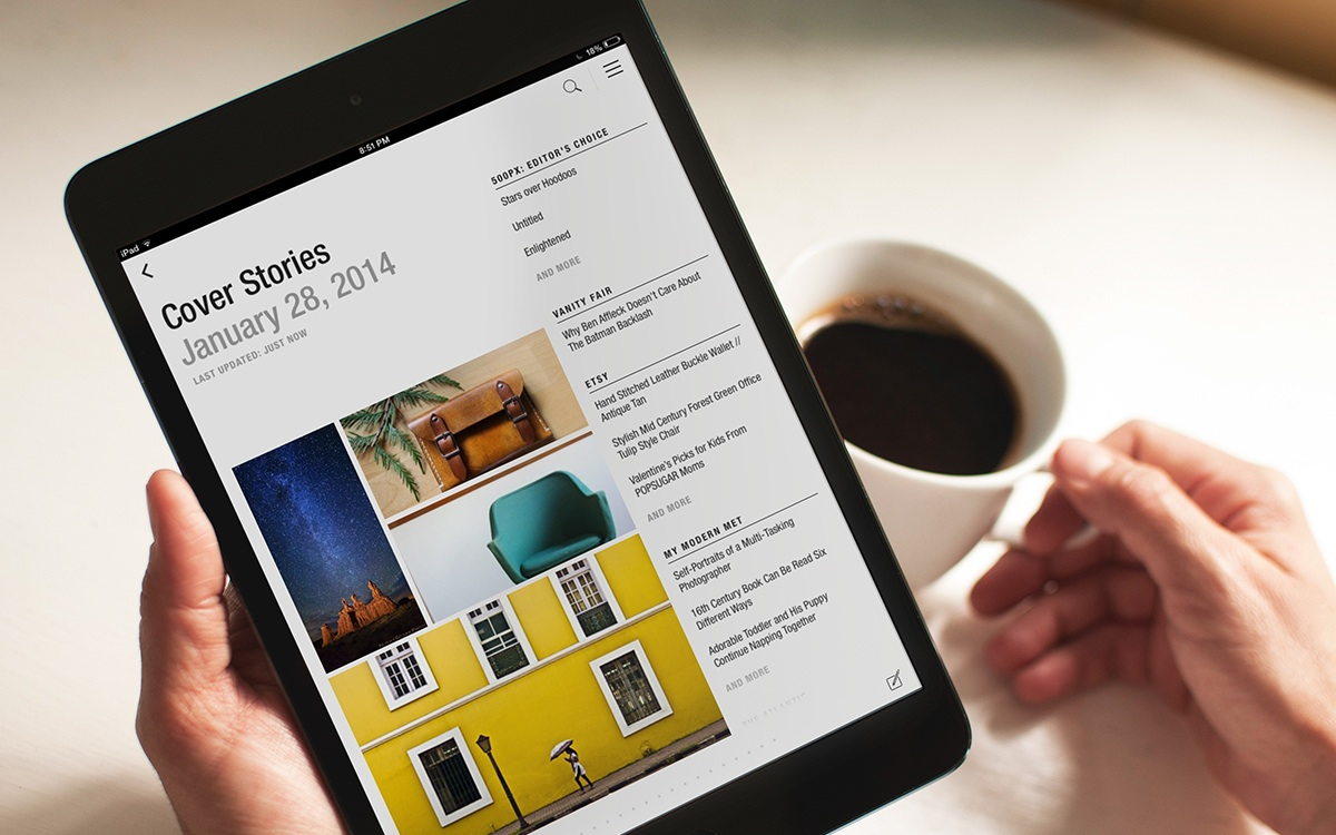 Flipboard Cover Stories redesign (image 001)