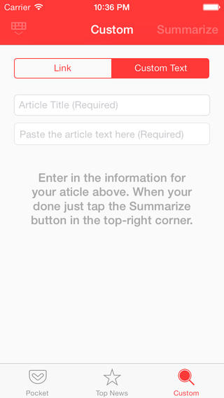 Gist 2.0 for iOS (iPhone screenshot 002)