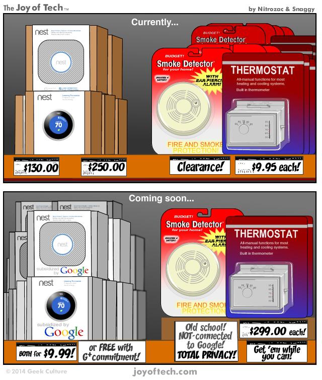 Google-Nest deal (Joy of Tech 001)