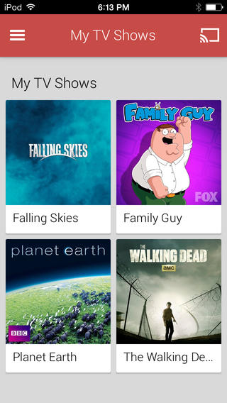 Google Play Movies & TV 1.0 for iOS (iPhone screenshot 003)