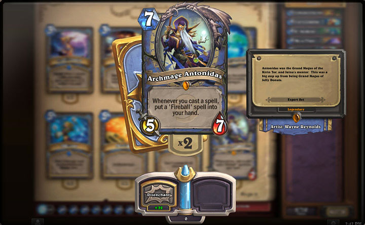 Hearthstone (Mac screenshot 001)