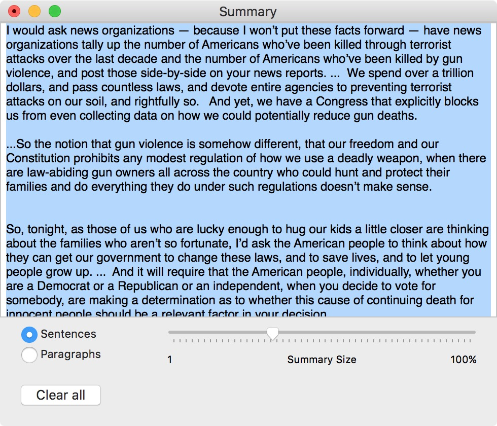 How to get your Mac to summarize text for you