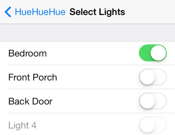 HueHueHue Select Lights