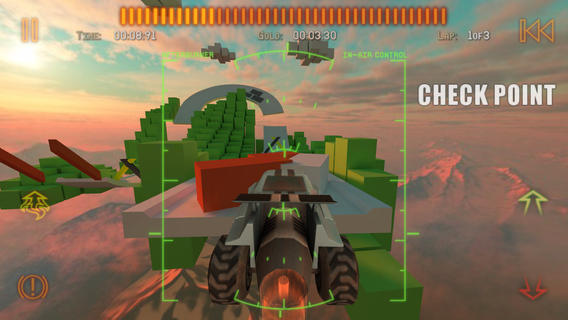 Jet Car Stunts 2 (iPhone screenshot 001)