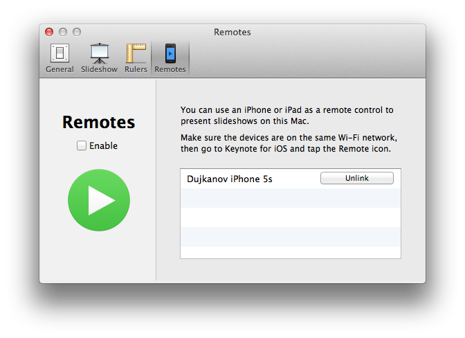 Keynote Remote (screenshot 007)
