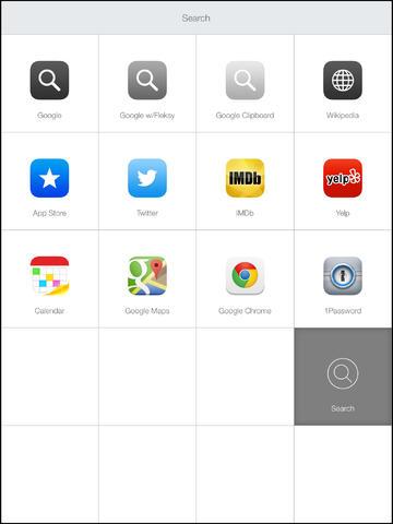Launch Center Pro 2.2 for iOS (iPad screenshot 003)