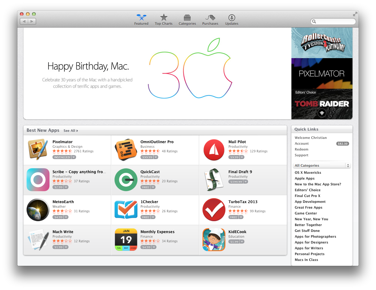 best apps on mac app store free