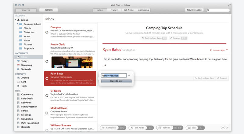 Mail Pilot 1.0.1 for Mac (screenshot 004)