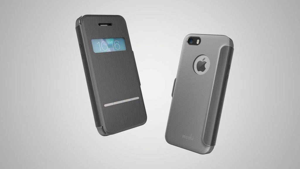 reputable site 66bf9 a638d Moshi launches flip cover iPhone case with embedded sensors