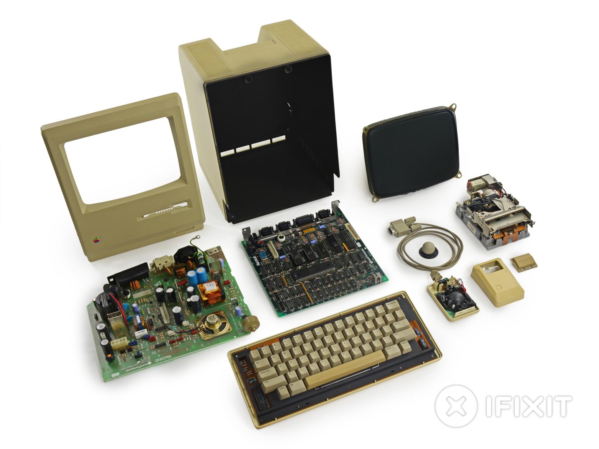Original Mac teardown (iFixit 001)