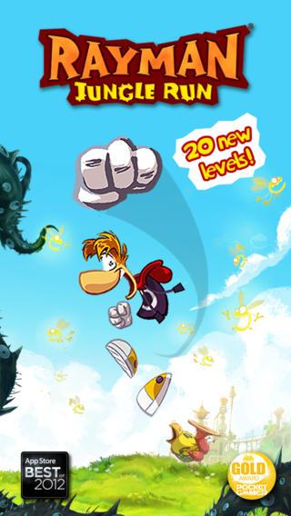 Rayman Jiungle Run for iOS (iPhone screenshot 001)