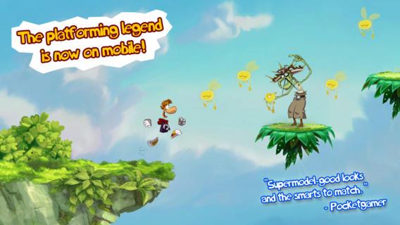 Rayman Jiungle Run for iOS (iPhone screenshot 002)