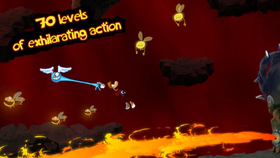 Rayman Jiungle Run for iOS (iPhone screenshot 003)