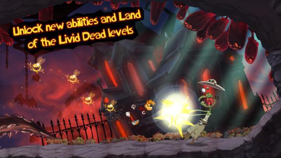 Rayman Jiungle Run for iOS (iPhone screenshot 005)