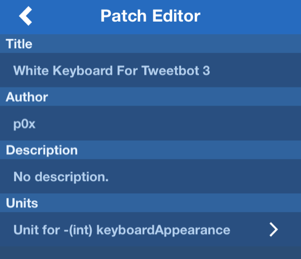 Resized Flex 2 patch editor