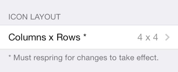 Resized FolderEnhancer iOS 7 icon layout