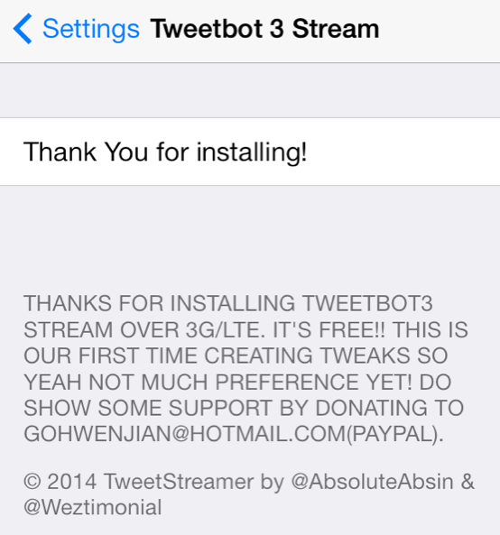Resized Tweetbot 3 Stream preferences