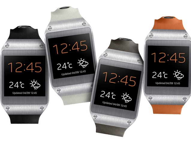 Samsung Galaxy Gear (multiple devices 002)