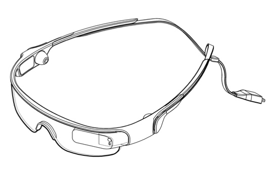 Samsung Glass patent (drawing 001)