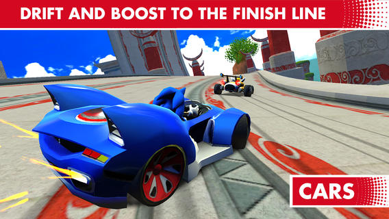 Sega Sonic and All-Stars Racing Transformed (iPhone screenshot 003)