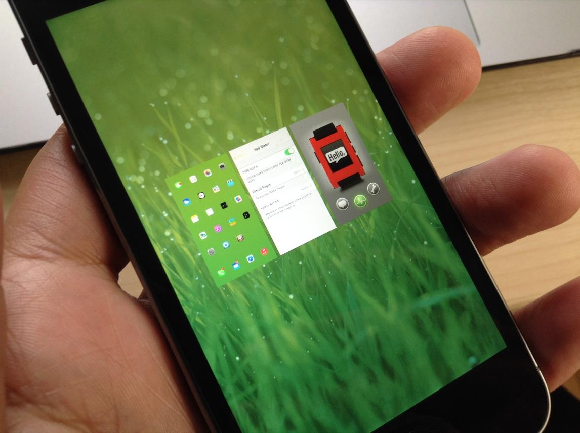 Springtomize 50 percent App Slider