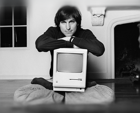 Steve Jobs (Mac 001)