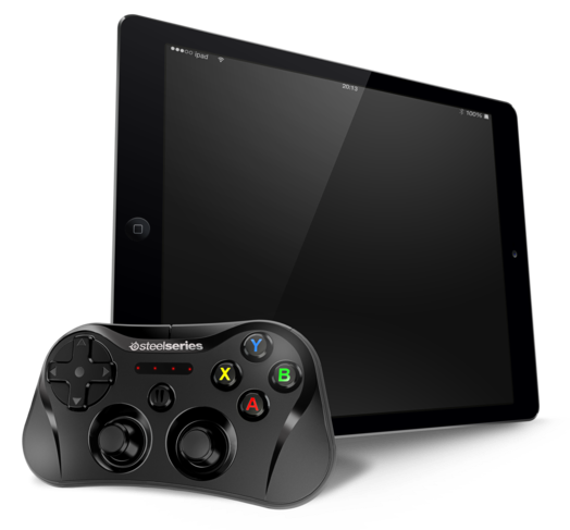 Stratus SteelSeries wireless gaming controller (iPad Air 001)