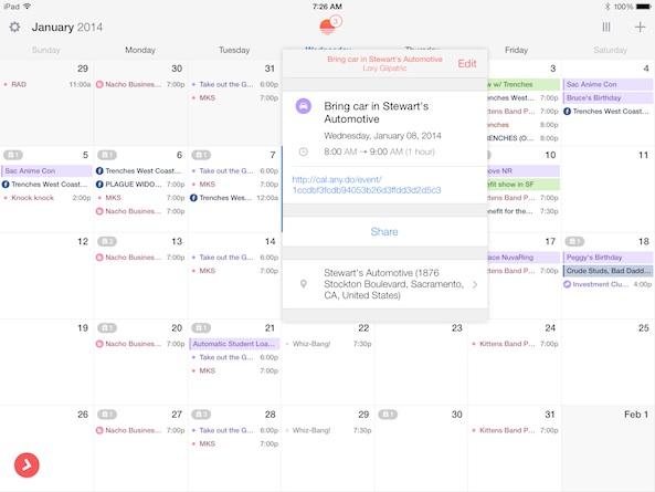 Sunrise Calendar 1