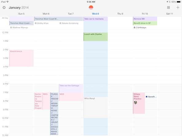 Sunrise Calendar 4