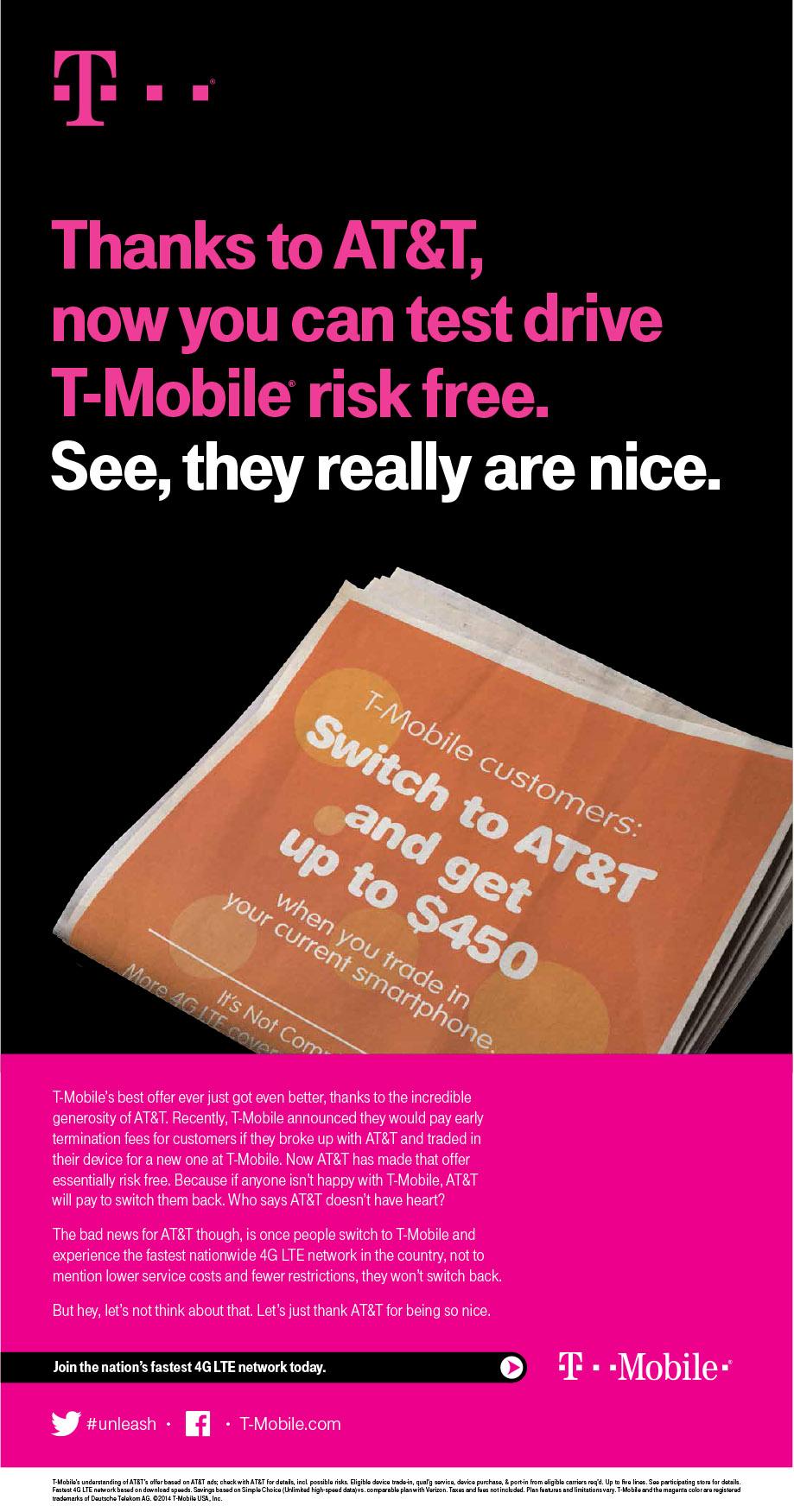 T-Mobile (ATT ad Deathstar)