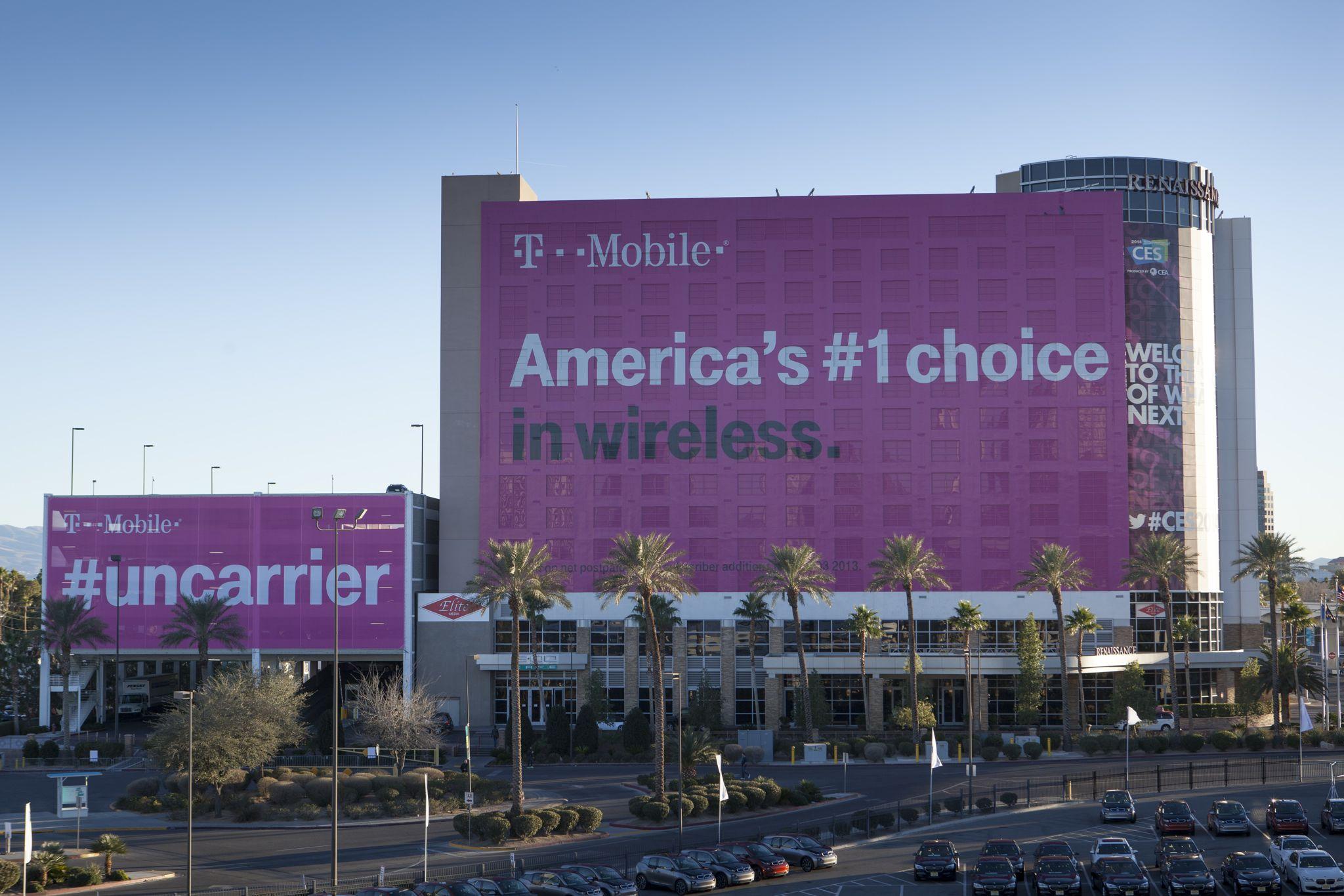 T-Mobile (CES 2014 building 001)
