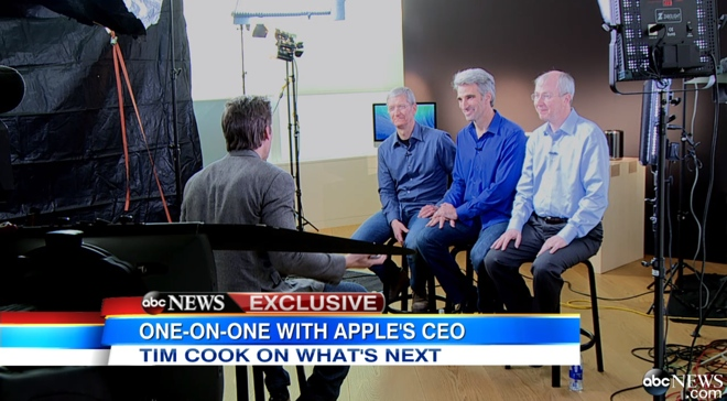 Tim Cook ABC intervew (teaser 003)