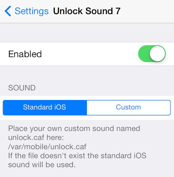 Unlock Sound 7