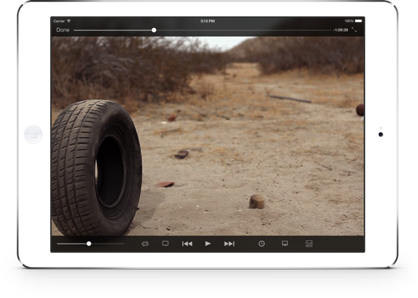 VLC for iOS 2.2 (iPad screenshot 002)
