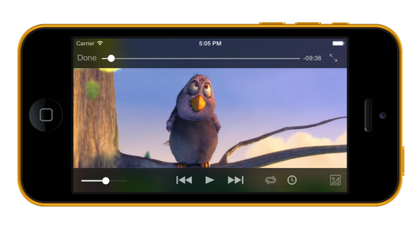 VLC for iOS 2.2 (iPhone screenshot 001)