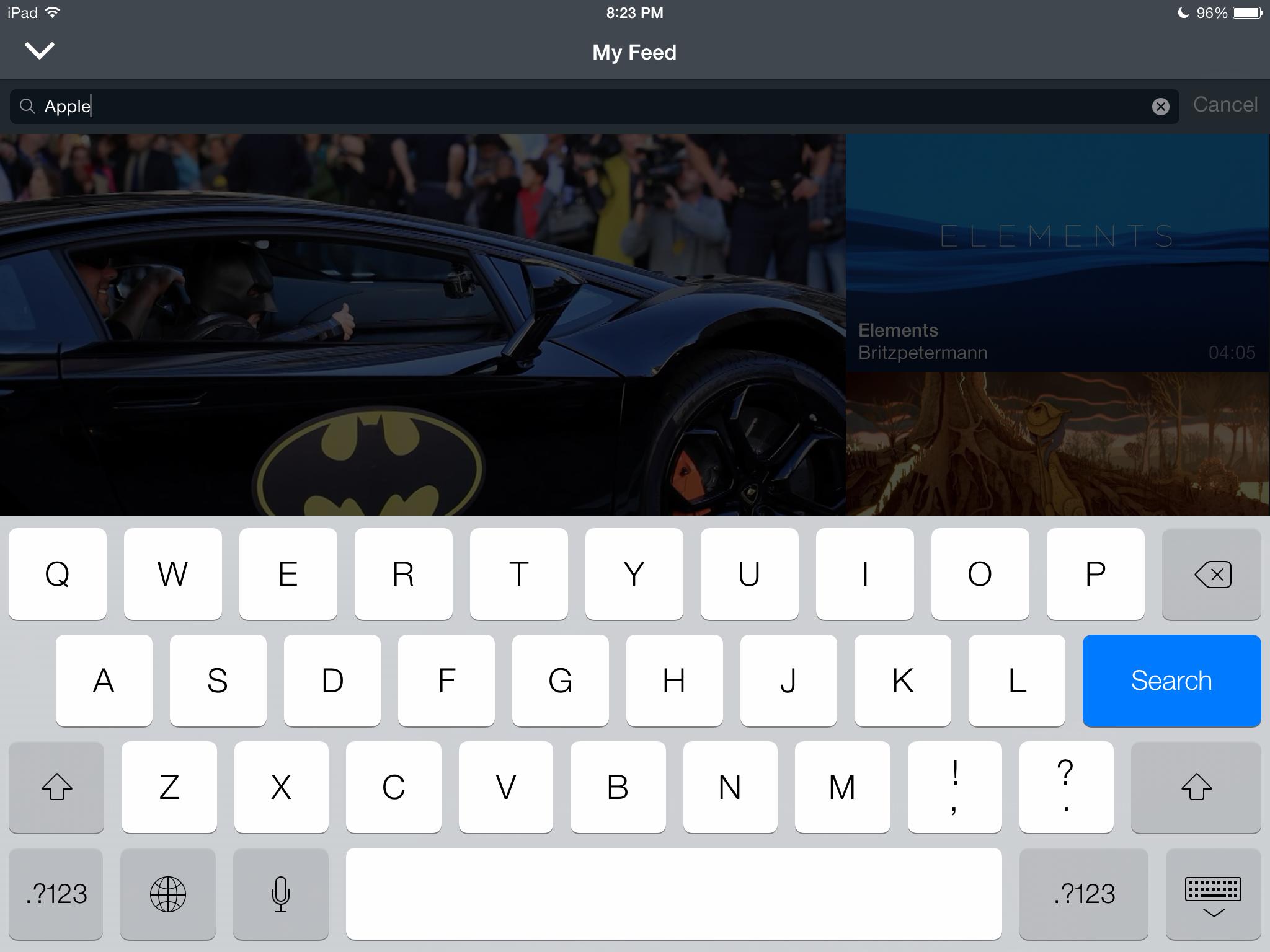 Vimeo 4.0.6 for iOS (iPad screenshot 003)