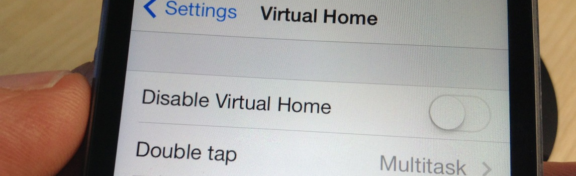 Virtual Home Best Touch ID Tweaks