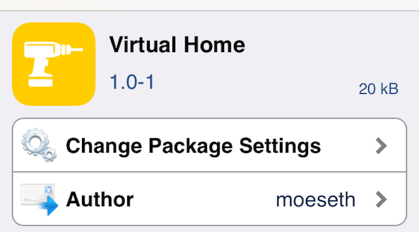 Virtual Home Tweak