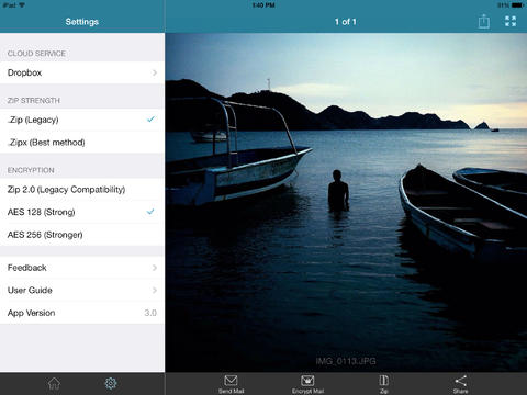 WinZip 3.0 for iOS (iPad screenshot 002)