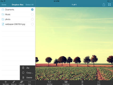 WinZip 3.0 for iOS (iPad screenshot 004)