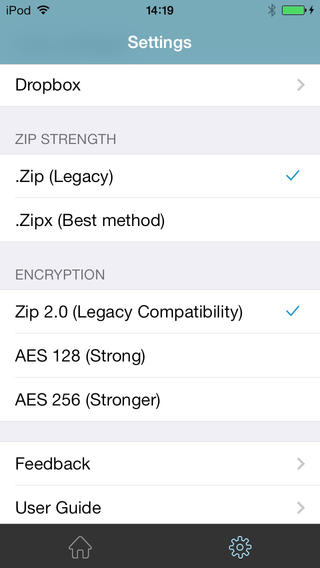 WinZip 3.0 for iOS (iPhone screenshot 003)