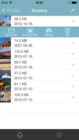 WinZip 3.0 for iOS (iPhone screenshot 005)