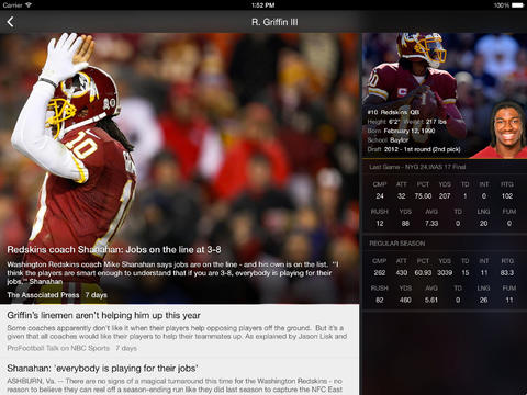 Yahoo Sports 5.0 for iOS (iPad screenshot 001)