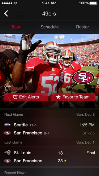 Yahoo Sports 5.0 for iOS (iPhone screenshot 004)