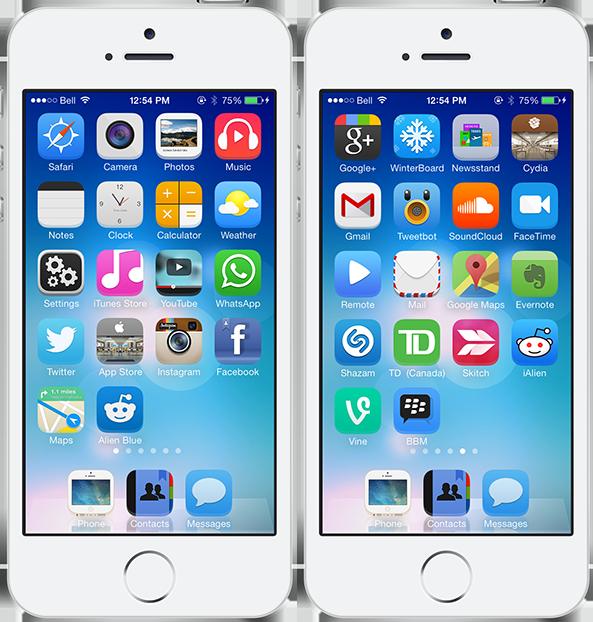 iOS 7 Carla