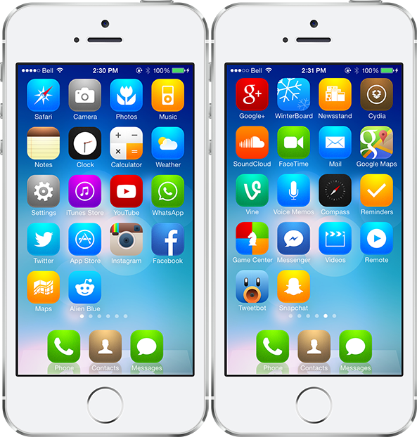 iOS 7 Radiance